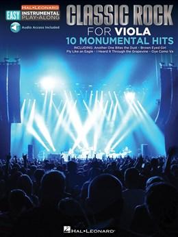 Viola Easy Instrumental Play-Along: Classic Rock