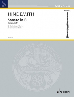 Hindemith Paul : Sonata in Bb