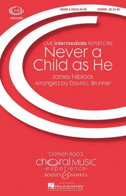 Niblock James : Never A Child As He