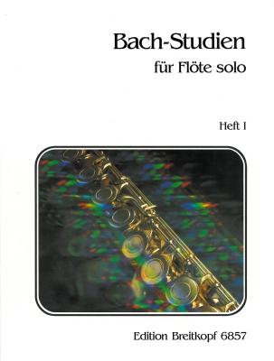 Bach Johann Sebastian : Bach-Studien für Flöte, Heft 1