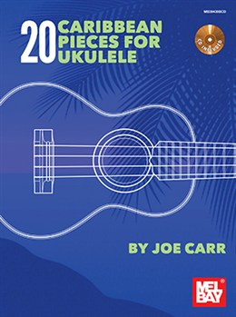Carr Joe : 20 Caribbean Pieces For Ukulele (Book/CD)