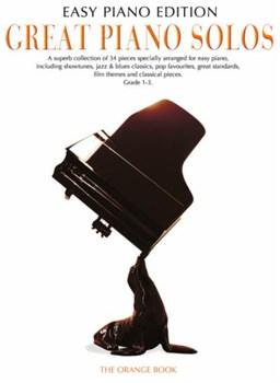 Great Piano Solos: The Orange Book - Easy Piano Edition (PVG)