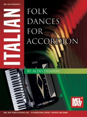 Diianni Aldo : Italian Folk Dances for Accordion