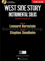 West Side Story Instrumental Solos: Clarinet (Book And Cd)