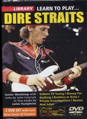 Dire Straits : Dvd Lick Library Learn To Play Dire Straits