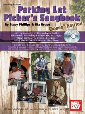 Dix Bruce : Parking Lot Picker's Songbook - Dobro Edt. Bk/2-CD Set
