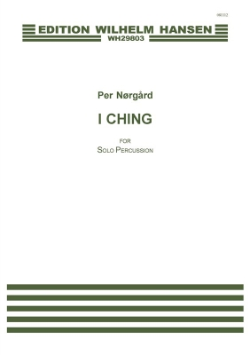 Norgard I Ching For Percussion Solo