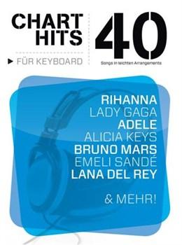 40 Chart-Hits Für Keyboard: In Leichten Arrangements
