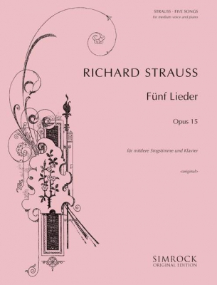 Strauss Richard : 5 Songs op. 15