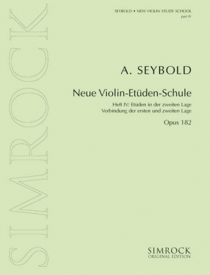 New Violin Study School op. 182 Band 4