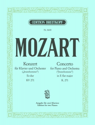 Mozart Wolfgang Amadeus : Klavierkonzert 9 Es-dur KV 271
