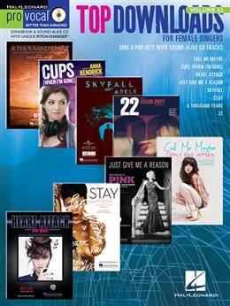 TOP DOWNLOADS PRO VOCAL WOMEN'S EDITION VOLUME 62 + CD