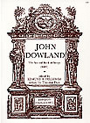 Dowland John : The Second Book of Songs (1600)