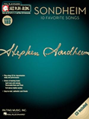 Jazz Play Along Vol.183 Sondheim 10 Favorite Songs