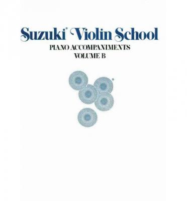 Suzuki Violin School, With Piano Accompaniment - Volume B (Da Volume 6 A Volume 10)