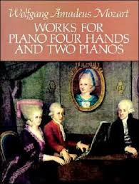 Mozart Wolfgang Amadeus : WORKS FOR PIANO 4M E 2PF