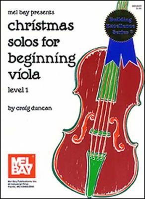 Duncan Craig : Christmas Solos for Beginning Viola