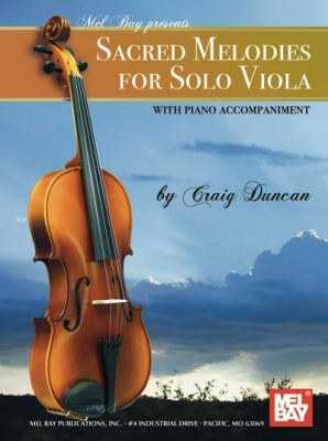 Duncan Craig : Sacred Melodies for Solo Viola