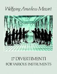Mozart Wolfgang Amadeus : 17 DIVERTIMENTI X VARI STRUMEN