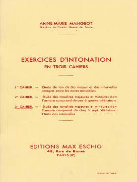 Exercices D'Intonation Vol.3