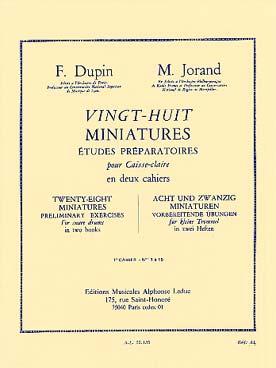 28 Miniatures Vol.1
