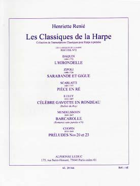Classique Harpe No2 (Recueil)