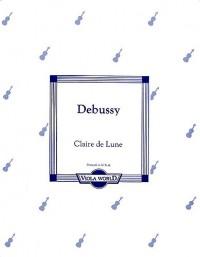 Debussy Claude : Claire de Lune