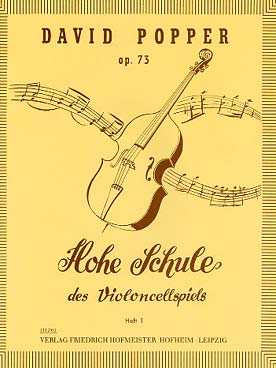Popper David : Hohe Schule des Violoncellospiels, op. 73, Heft 1