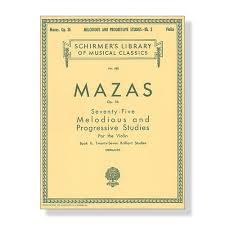 75 Melodious And Progressive Studies, Op. 36 - Book 2 : Brilliant Studies
