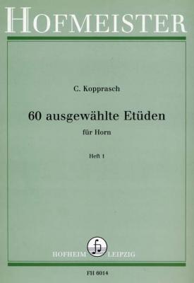 60 Etüden, Heft 1