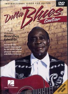 Dvd Delta Blues Guitar Honeyboy Edwards
