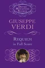 Verdi Giuseppe : Verdi Requiem In Full Score Miniature Scores