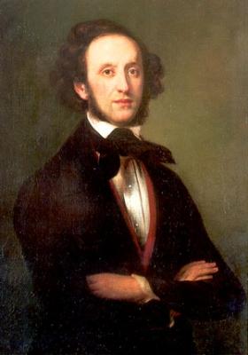 Felix Mendelssohn Bartholdy, 36-jährig