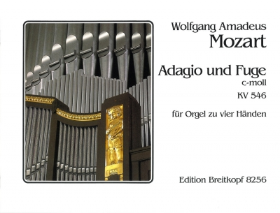 Mozart Wolfgang Amadeus : Adagio und Fuge c-moll KV 546
