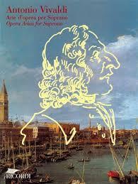 Vivaldi Antonio : ARIE D'OPERA PER SOPRANO