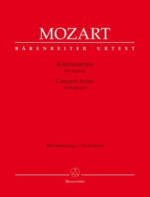 Mozart Wolfgang Amadeus : Concert Arias II for Soprano