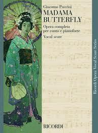 Puccini Giacomo : MADAMA BUTTERFLY