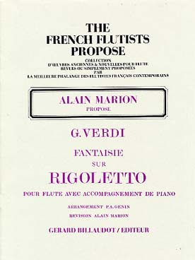 Fantaisie Sur Rigoletto