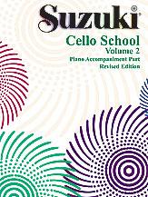 Cello School Piano Acc., Vol.2 - Revised