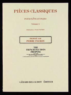 PIECES CLASSIQUES VOLUME 4