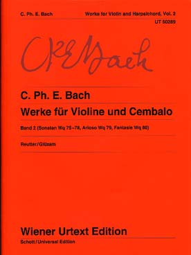Bach Carl Philip Emmanuel : Sonatas Band 2