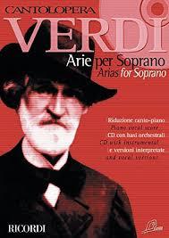 Verdi Giuseppe : CANTOLOPERA: ARIE PER SOPRANO + CD