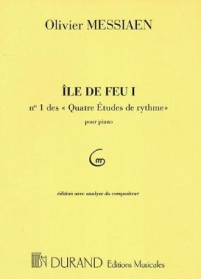 4 Etudes De Rythme N 1: Ile De Feu I Pour Piano