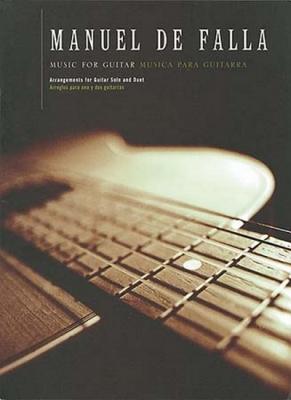 Falla Manuel De : De Falla Manuel Music For Guitar Solo & Duet