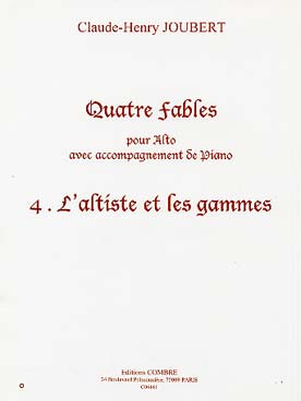L'Altiste Et Les Gammes #4 De '4 Fables'