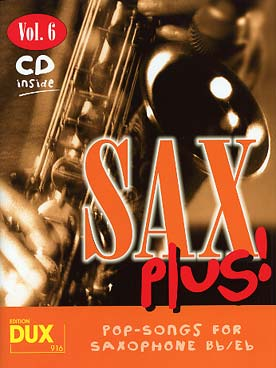 Sax plus ! Vol. 6