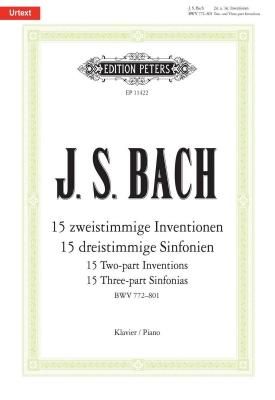 Inventions And Sinfonias (Urtext)