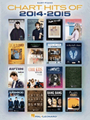 Chart Hits Of 2014-2015 easy Piano Songbook