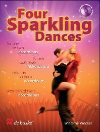 4 Sparkling Dances/ Pour Un Ou Deux Accordéons