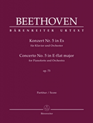 Beethoven Ludwig Van : Concerto for Pianoforte and Orchestra #5 E-flat major op. 73
